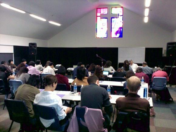 Armour Publishing Writers Workshop at Kum Yan Methodist Church