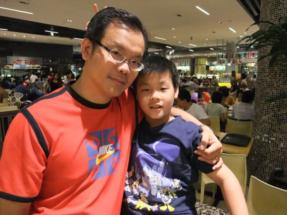 Pastor Chua and son John