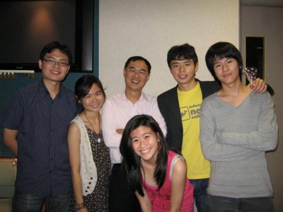 Joshua, Elaine, myself, Wen Mun, Matthew, Wen Por