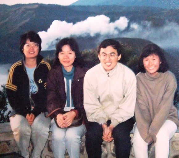 1990- ps Mary Tham, Kim, Kenny, Janet