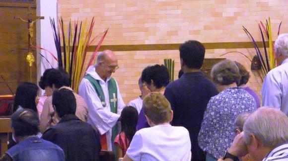 Eucharist every Sunday