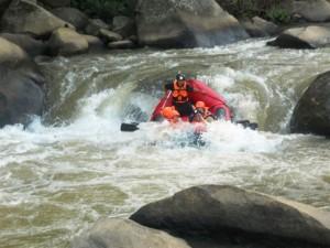 Mae Taeng river rafting
