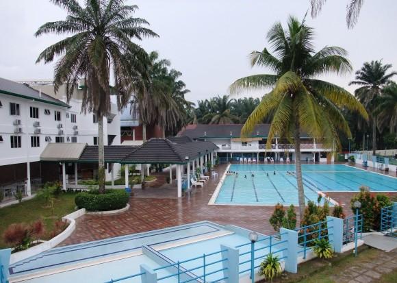 recreation area at Malaysian Bible Seminary in Kuang