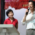 Seh Chuan and Brenda sharing