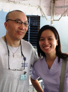 Dr Doug and local Dr Marianne