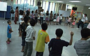 children's ministry: mainly Chin Myanmese refugee kids