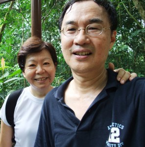 trekking the Bukit Timah hill