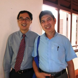 ..with Rev John Sim