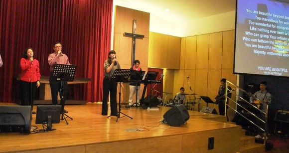 the worship band