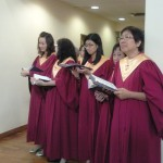 choir at entrance