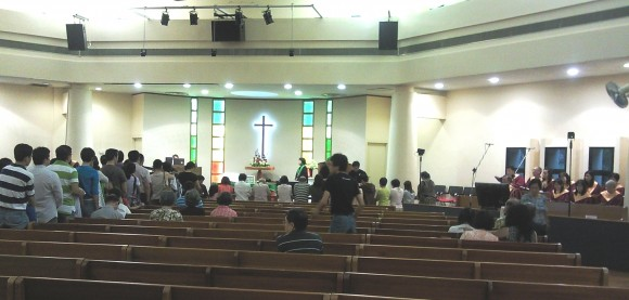 communion kneelers