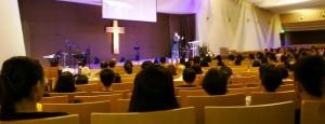 Rev Chiu Ming Li preaching
