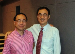 Ps Lawrence Koo with me