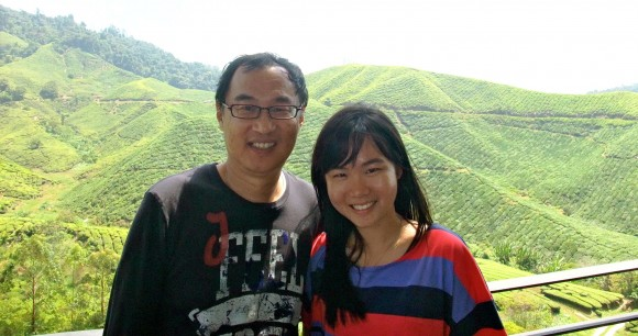 Tea at BOH tea plantation