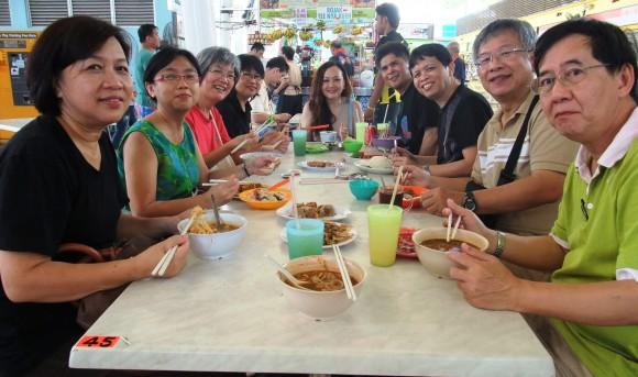 Dr Rosalind Lim-Tan and guests