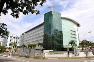 HDB church building