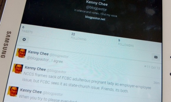 Kenny Chee @ blogpastor