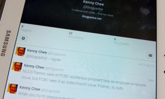 Kenny Chee @ blogpastor