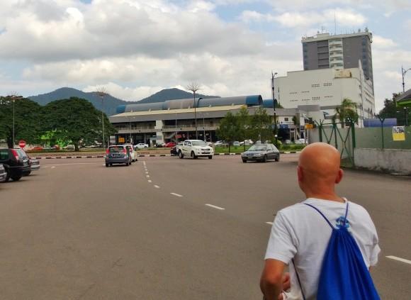 Gunung Lambak in the background