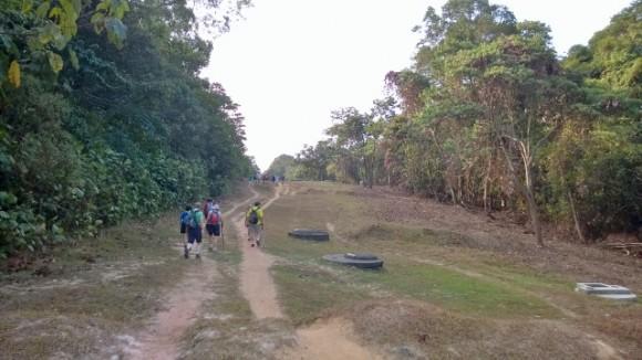 Trekking parallel to the BKE