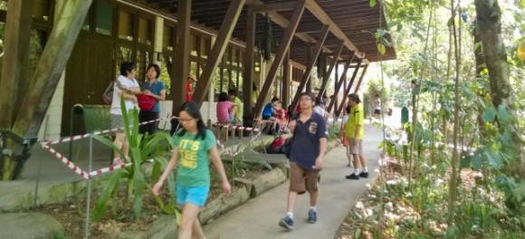 Ranger's Station in heart of MacRitchie Reservoir