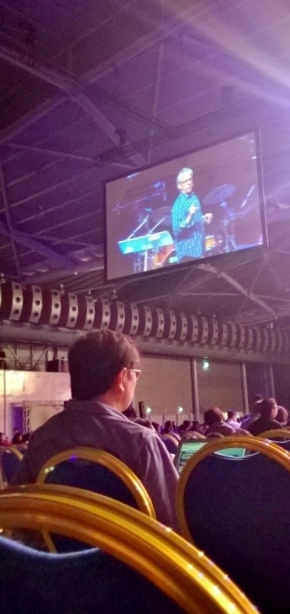 Bill Johnson preaching in Kingdom Invasion