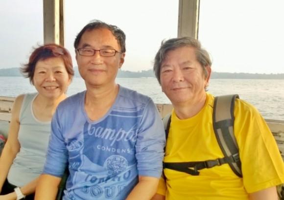A pleasant 15 min boat ride to the island of Pulau Ubin