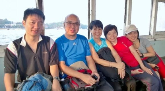 Trekker friends: Michael, Y.K., Nellie, Jane