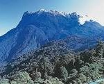 Mt Kinabalu (4,096 m) in Sabah, Malaysia