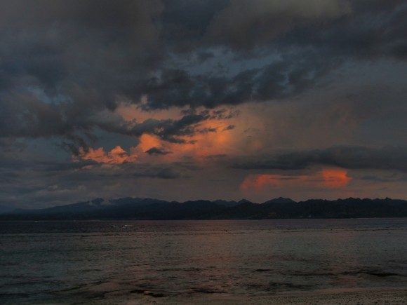 Sunset at Gili Trawangan