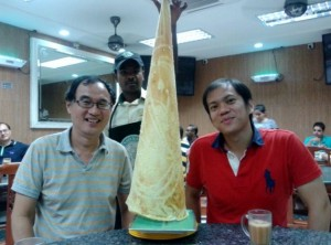 With Yew Juan and tallest tissue prata in PJ