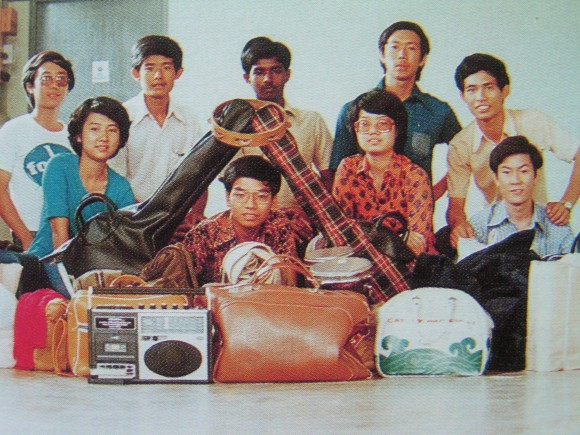 Simeon Poh seated on extreme right