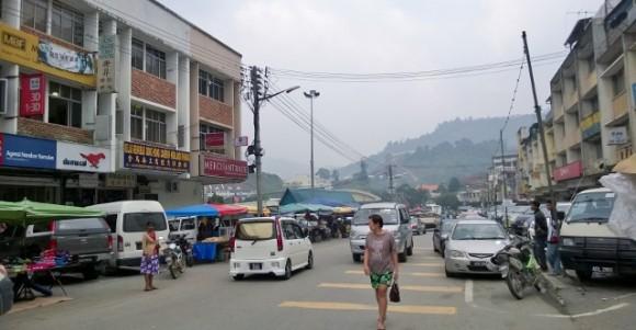 Ringlet town street