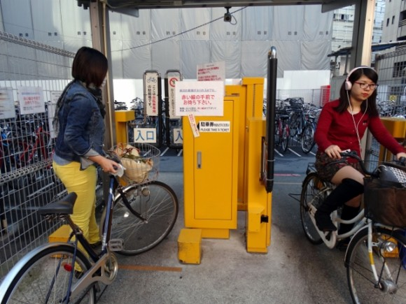 Bicycle culture is established in most Japanese cities. (Credits: Wee Khoon)