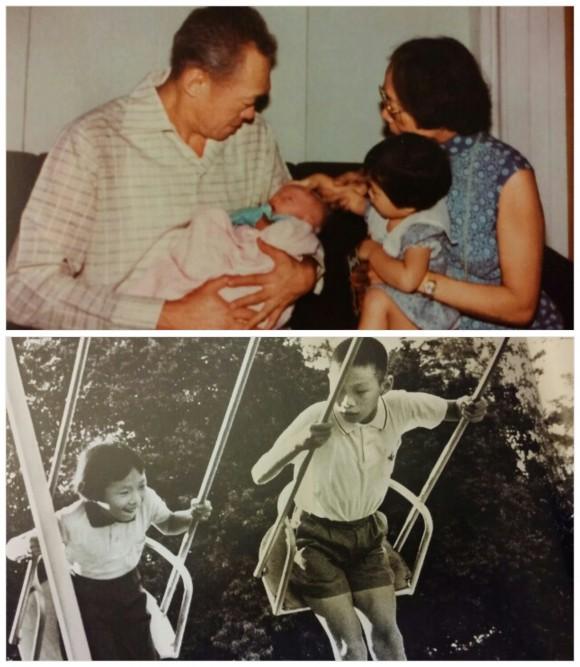 Grandchildren and children