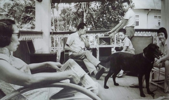 My favourite shot: LKY the family man