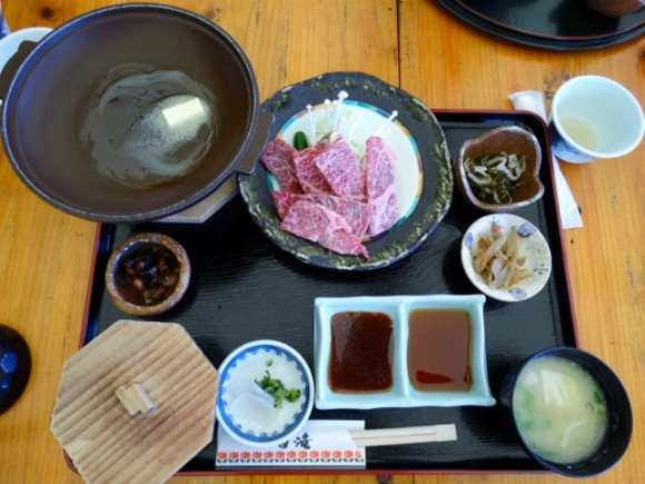 Beef lunch. Photo by Khoon