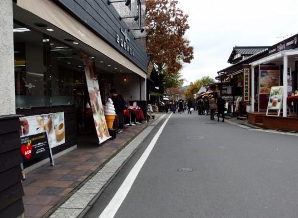 Pedestrians only street