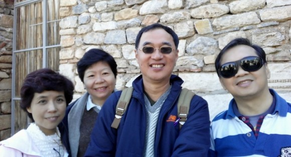 Old friend Pastor Richard  & Nancy Loh of Queenstown Baptist Church