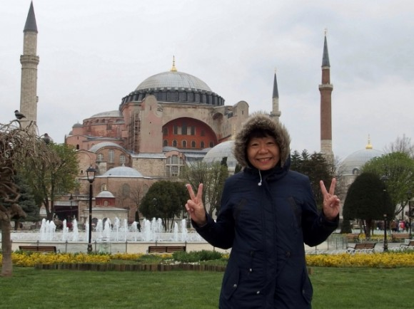 Hagia Sofia: church turned mosque turned museum