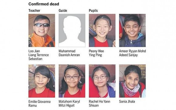 RIP: Fellow Singaporean hikers who lost their lives in Sabah quake