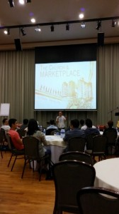 Benny Ho sharing the Perspectives on Marketplace Ministry