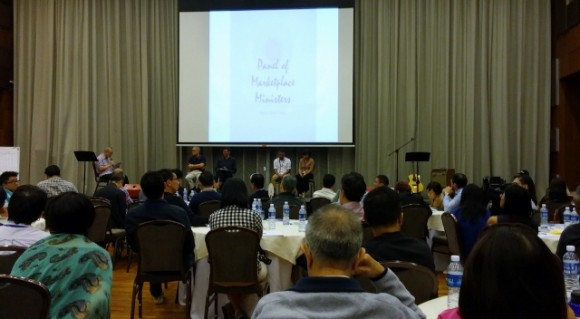 Panel of marketplace leaders who shared how they were salt and light in their respective context