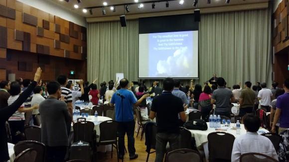 Pastors' & Marketplace Leaders' Retreat Aug 2015