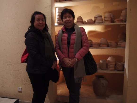 Joyce Leong and Jenny in the museum