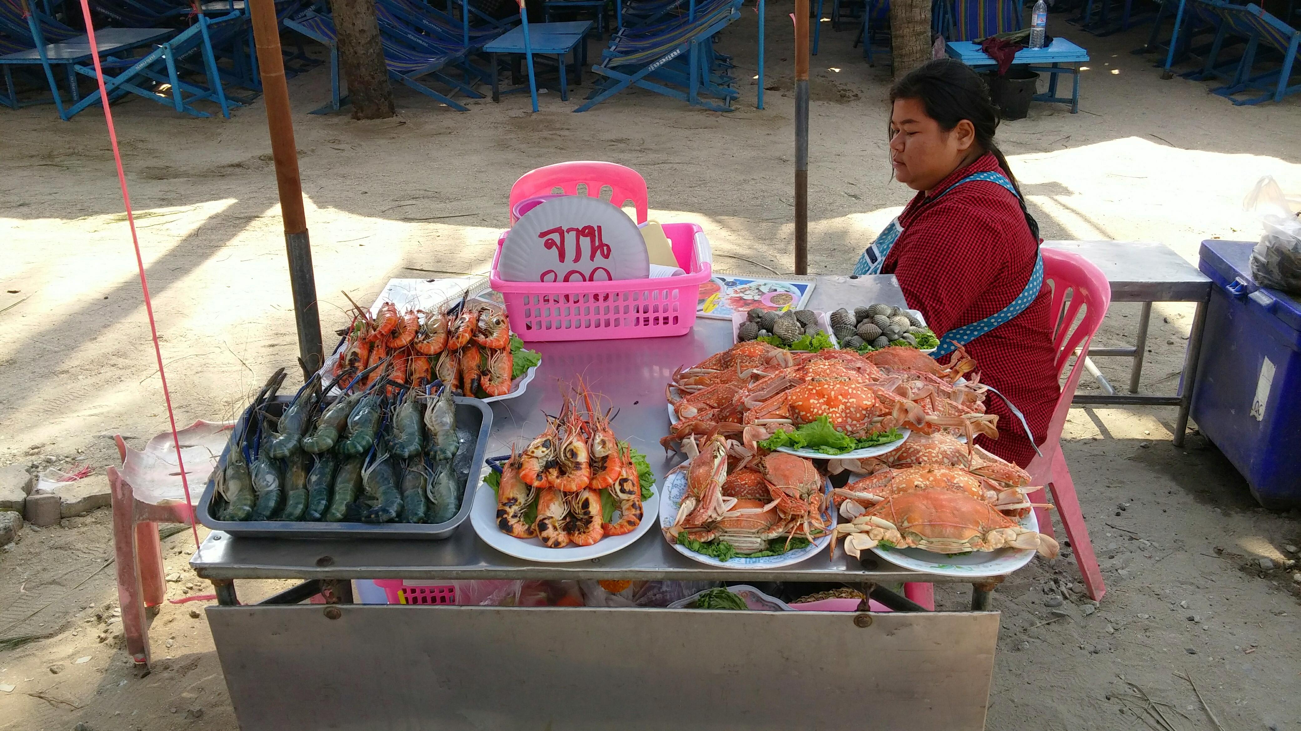 Seafood in abundance
