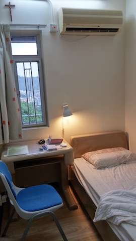 "My ""hong Kong sized"" room."