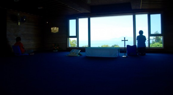 In the of the beautiful chapels